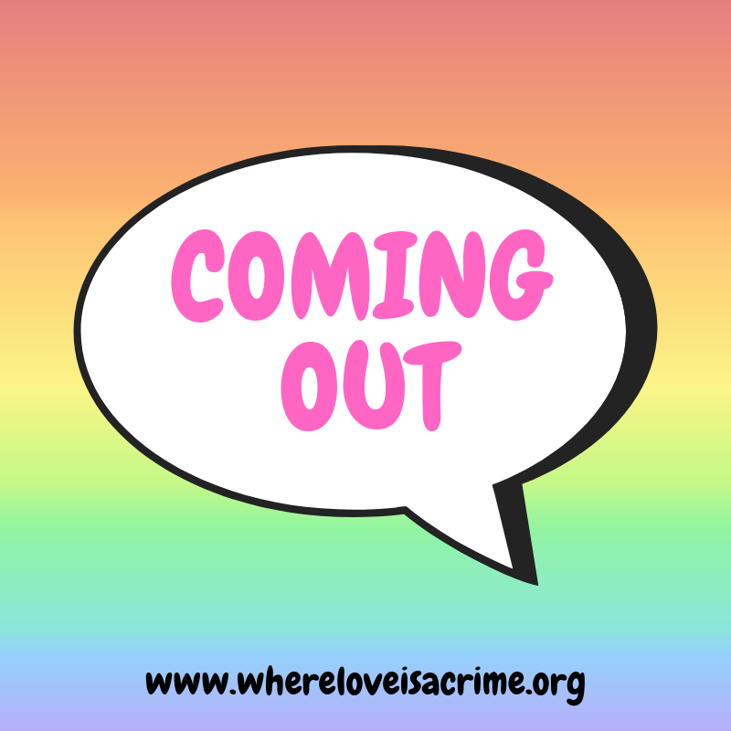 Call for Submissions: Coming Out - Where Love is a Crime